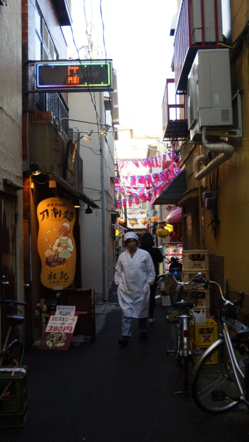 Yokohama - back alley